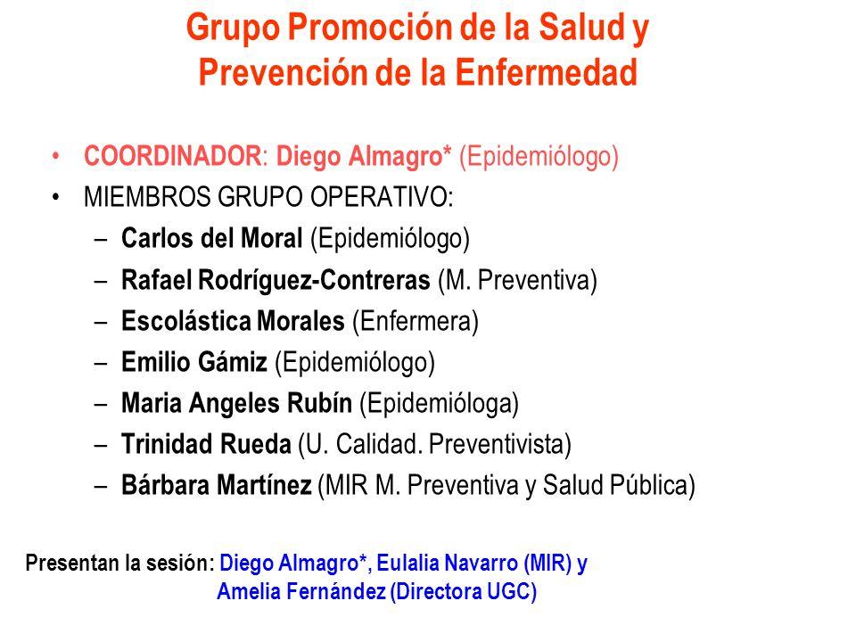 Grupo Promoción de la Salud y Prevención de la Enfermedad