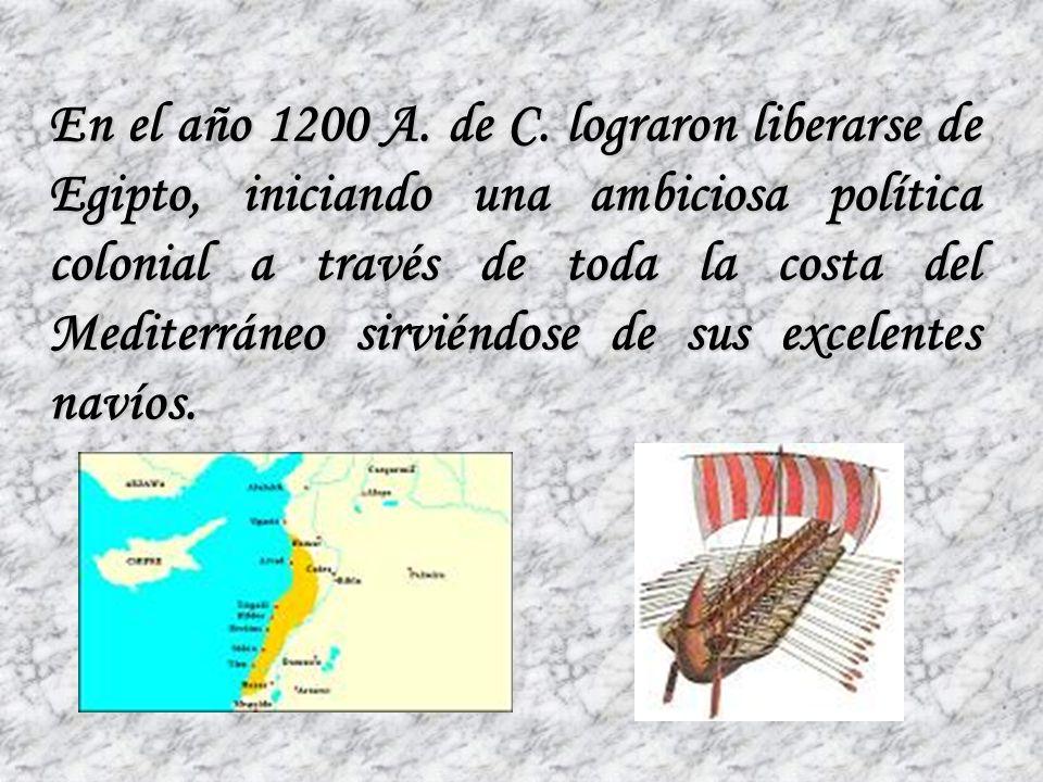 En el año 1200 A. de C.