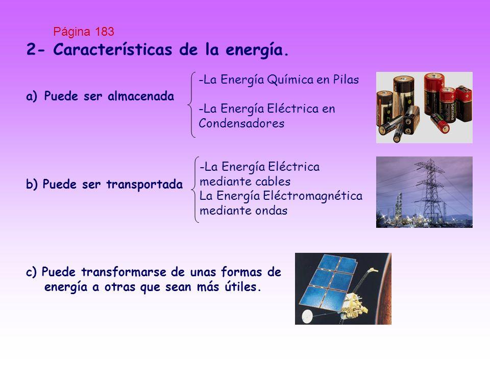 2- Características de la energía.