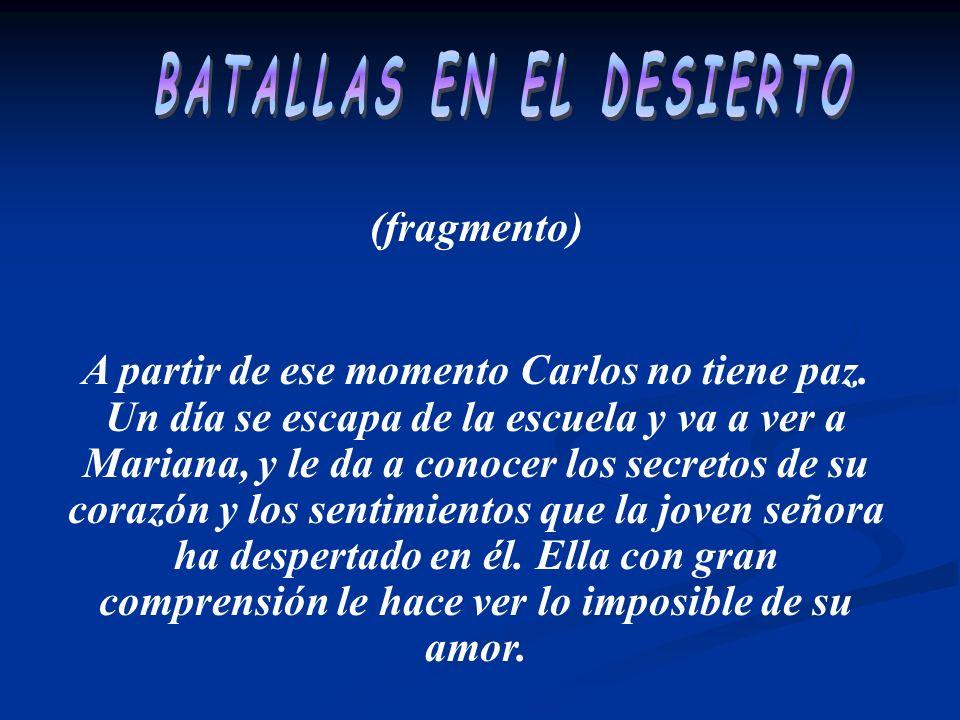 BATALLAS EN EL DESIERTO