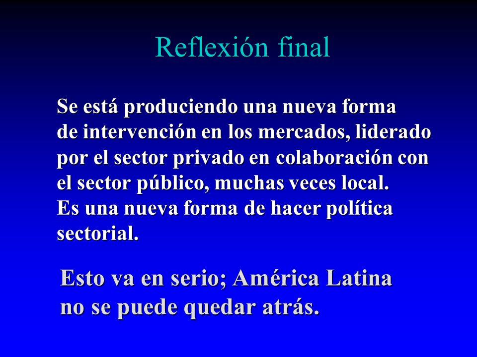 Reflexión final Esto va en serio; América Latina