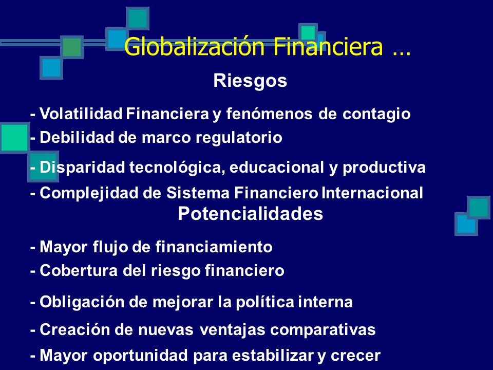 Globalización Financiera …