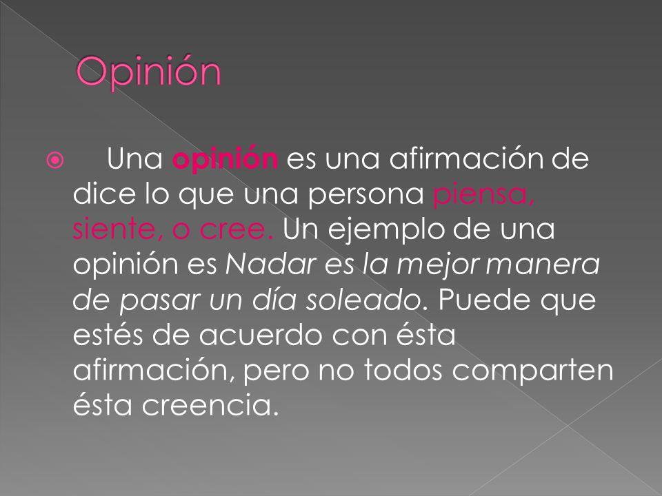 Opinión