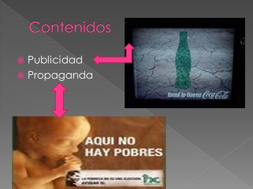 Contenidos Publicidad Propaganda