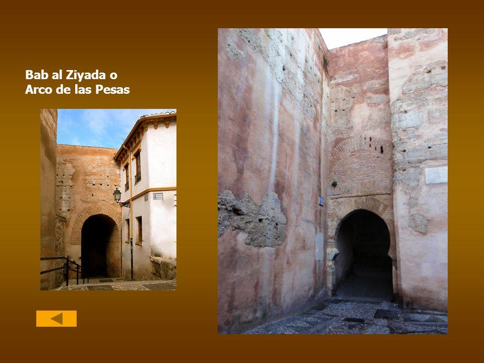Bab al Ziyada o Arco de las Pesas