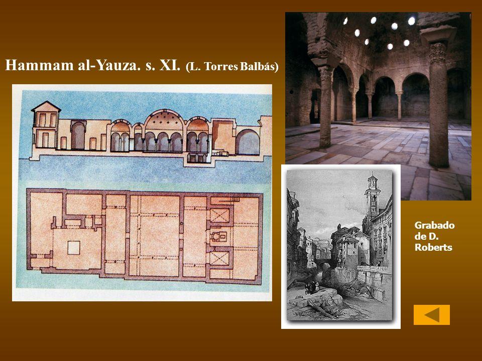 Hammam al-Yauza. s. XI. (L. Torres Balbás)