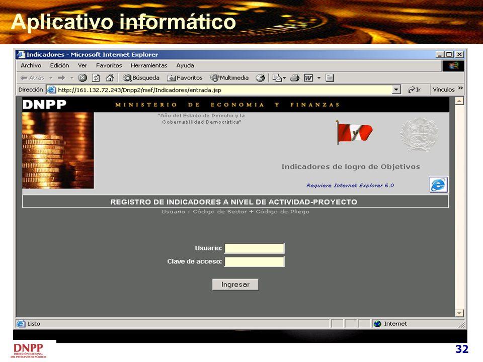 Aplicativo informático