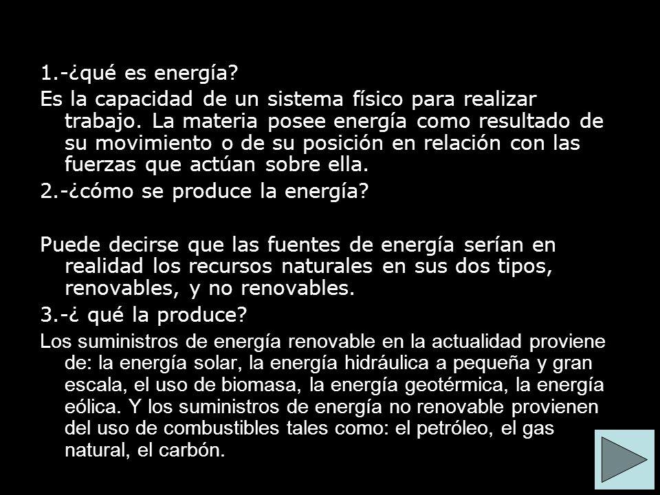 1.-¿qué es energía