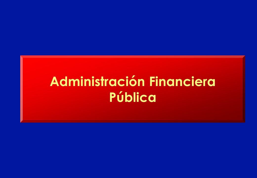 Administración Financiera Pública