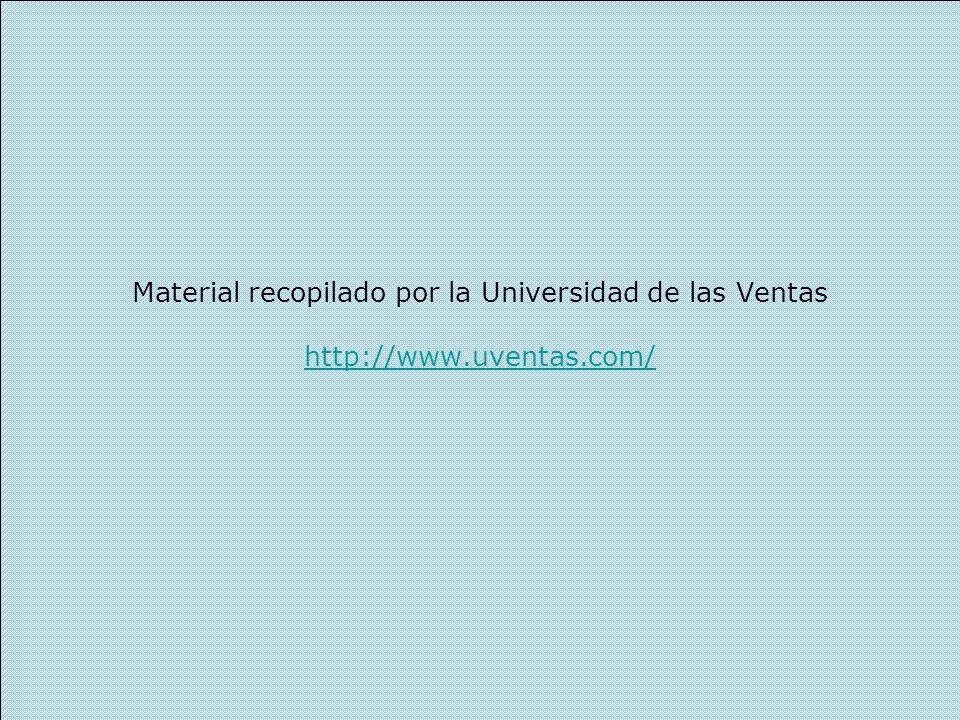 Material recopilado por la Universidad de las Ventas http://www