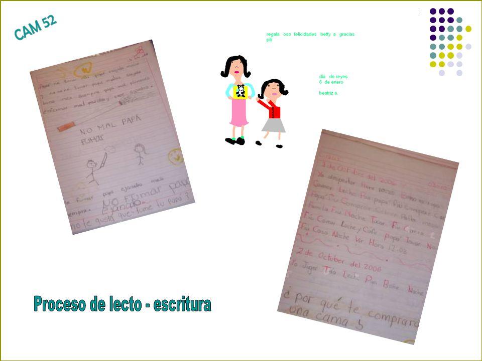 Proceso de lecto - escritura