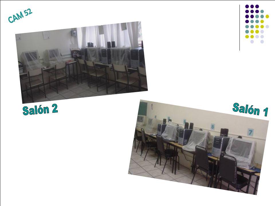 CAM 52 Salón 2 Salón 1