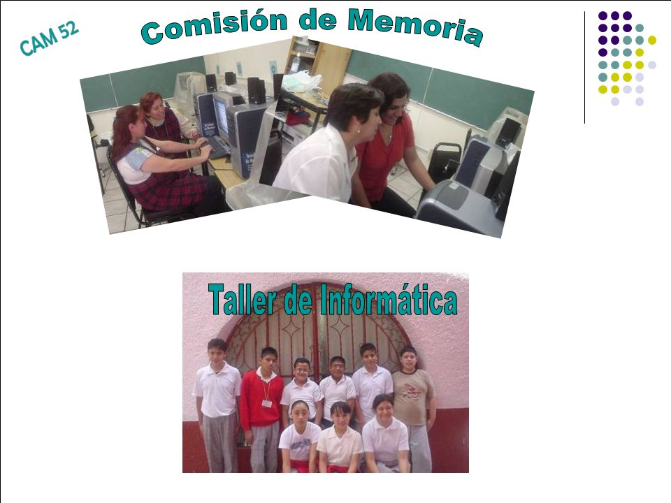 Comisión de Memoria CAM 52 Taller de Informática