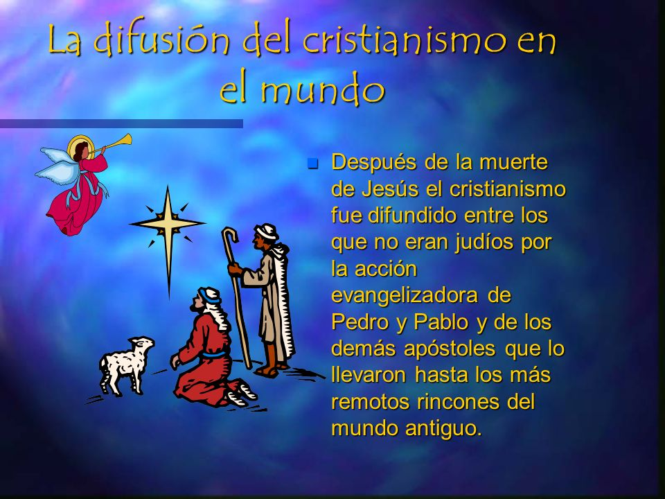 La difusión del cristianismo en el mundo