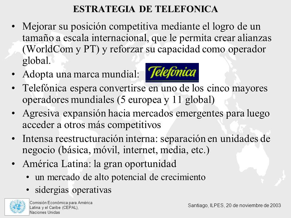 ESTRATEGIA DE TELEFONICA