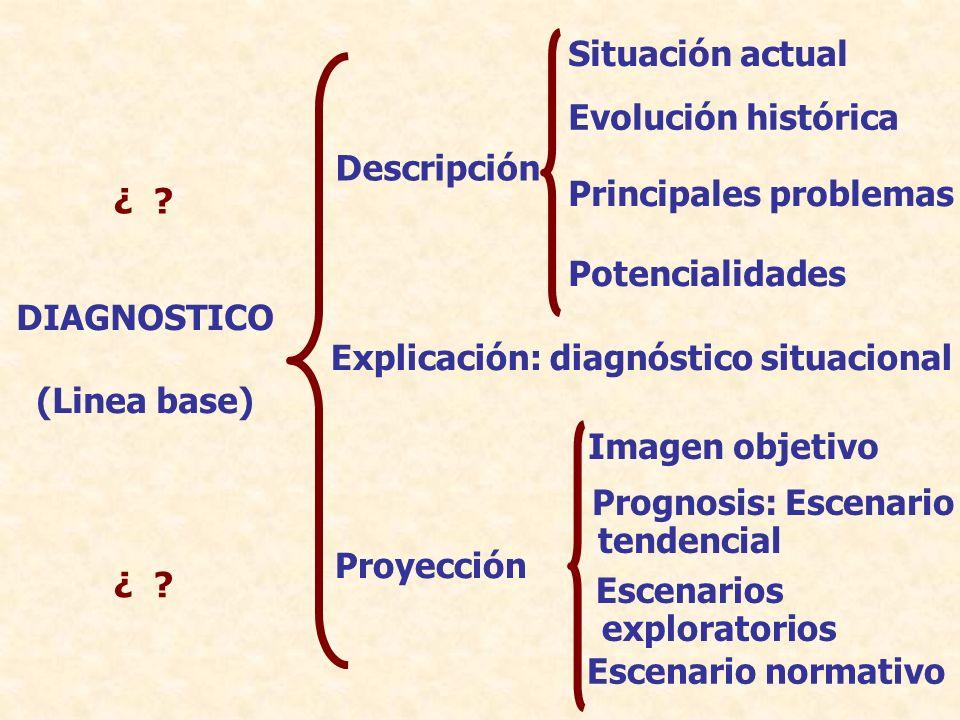 Situación actual Evolución histórica. Descripción. Principales problemas. ¿ Potencialidades.