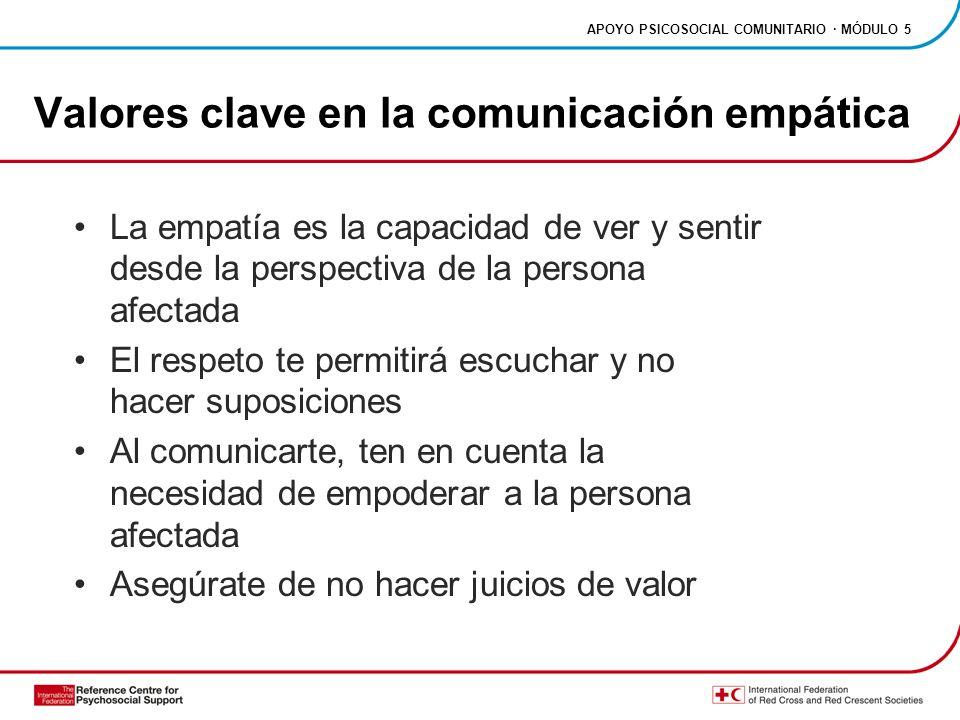 Valores clave en la comunicación empática