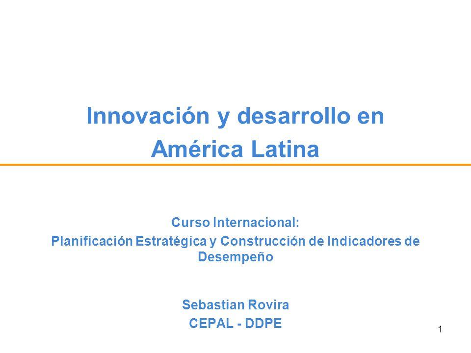 Innovación y desarrollo en América Latina