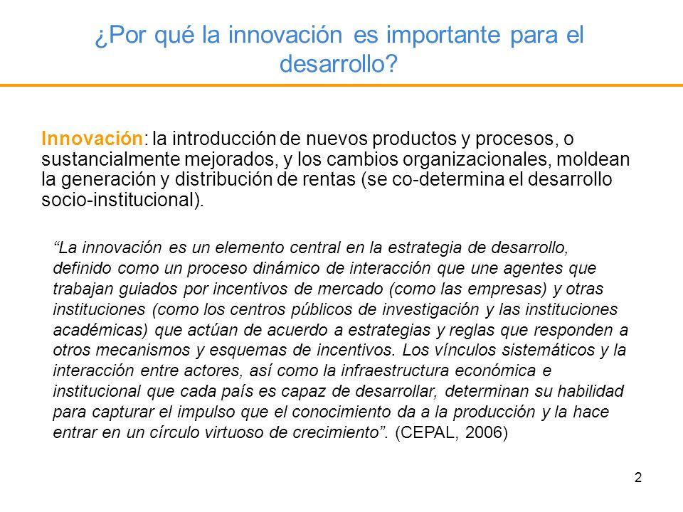 ¿Por qué la innovación es importante para el desarrollo