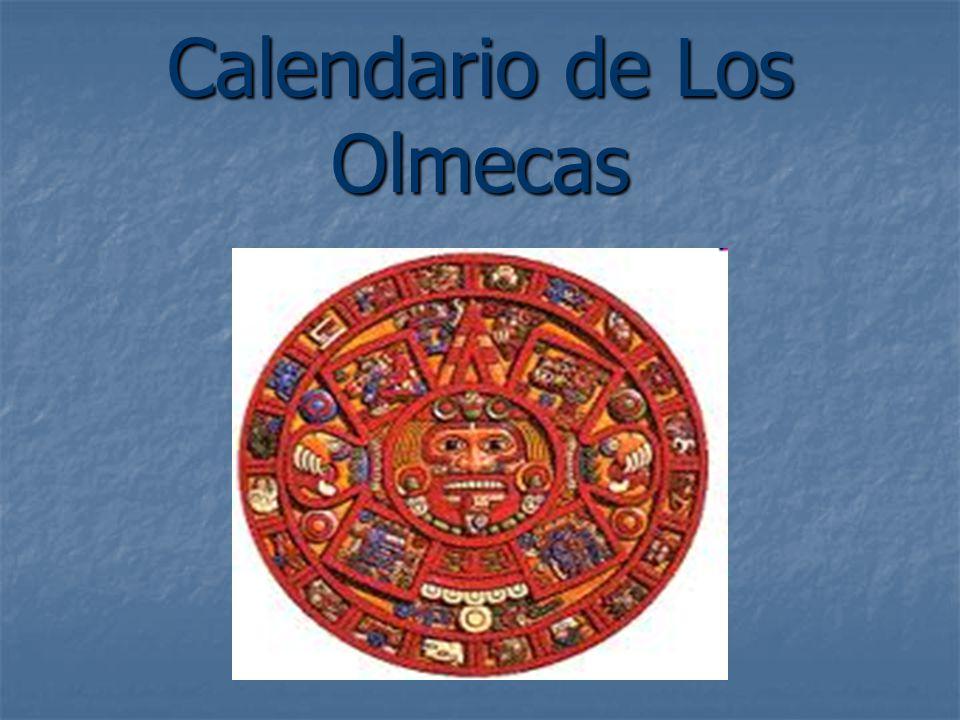Calendario de Los Olmecas