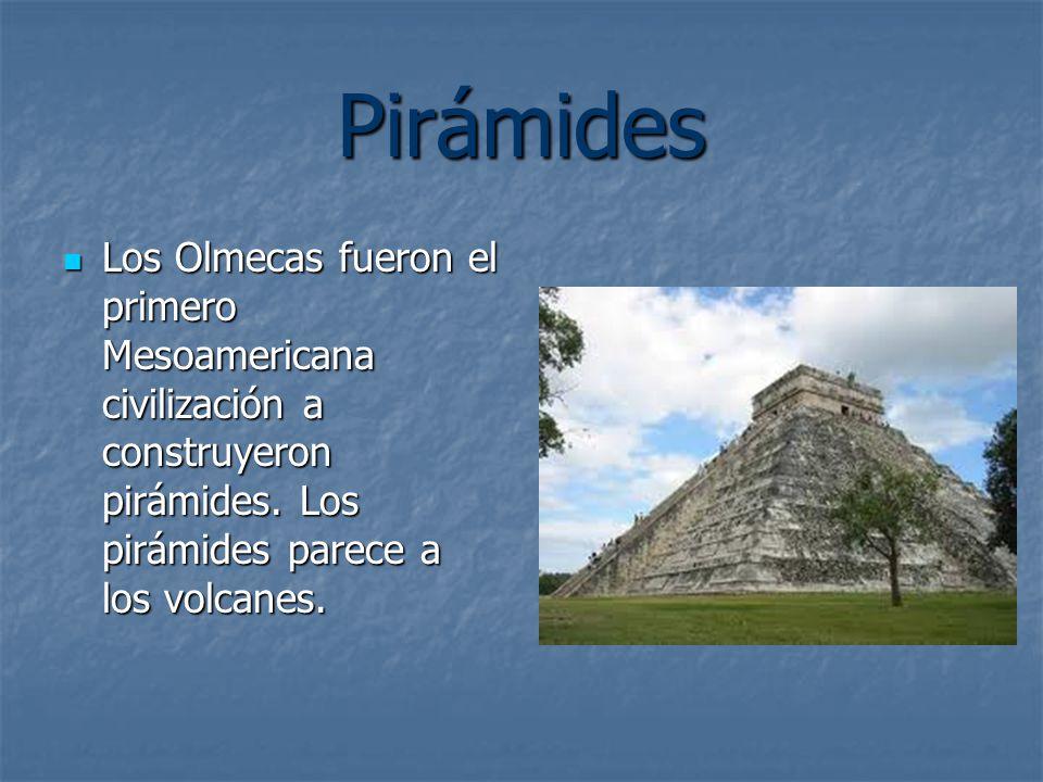 Pirámides Los Olmecas fueron el primero Mesoamericana civilización a construyeron pirámides.