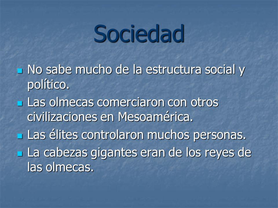 Sociedad No sabe mucho de la estructura social y político.