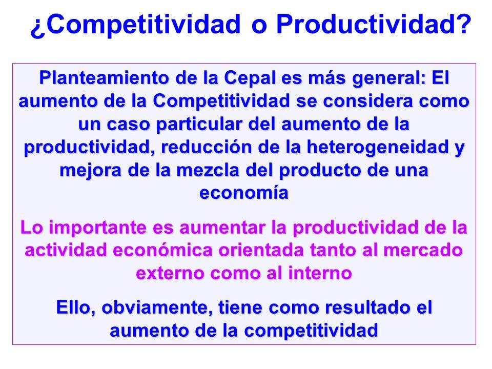 Ello, obviamente, tiene como resultado el aumento de la competitividad
