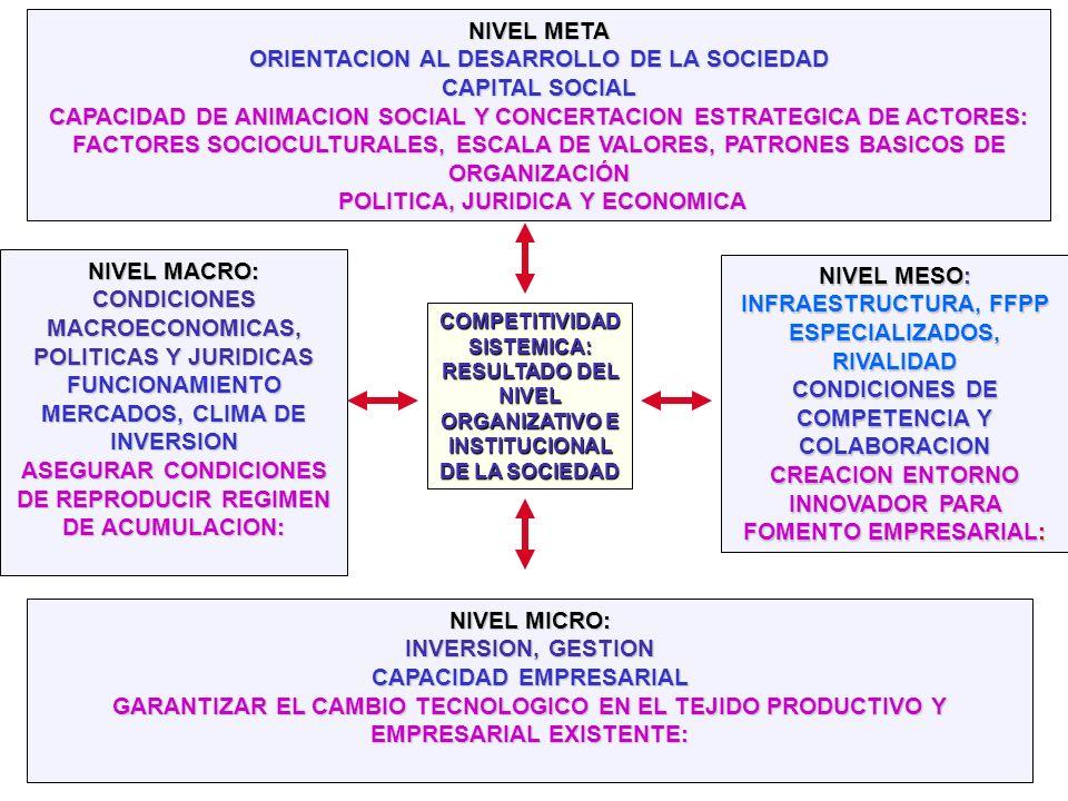 ORIENTACION AL DESARROLLO DE LA SOCIEDAD CAPITAL SOCIAL