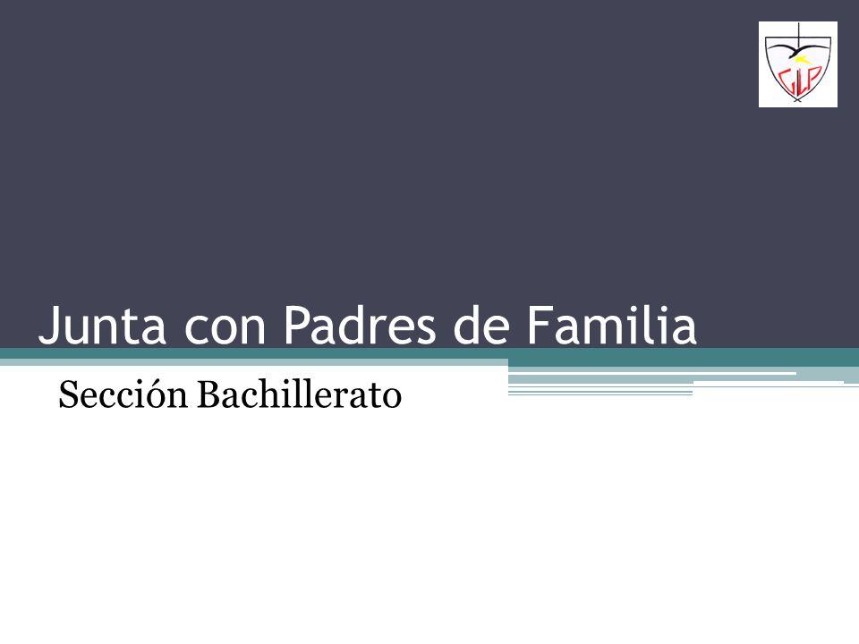 Junta con Padres de Familia