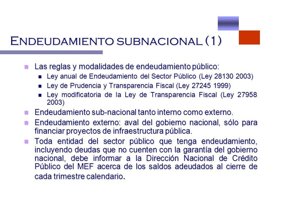 Endeudamiento subnacional (1)