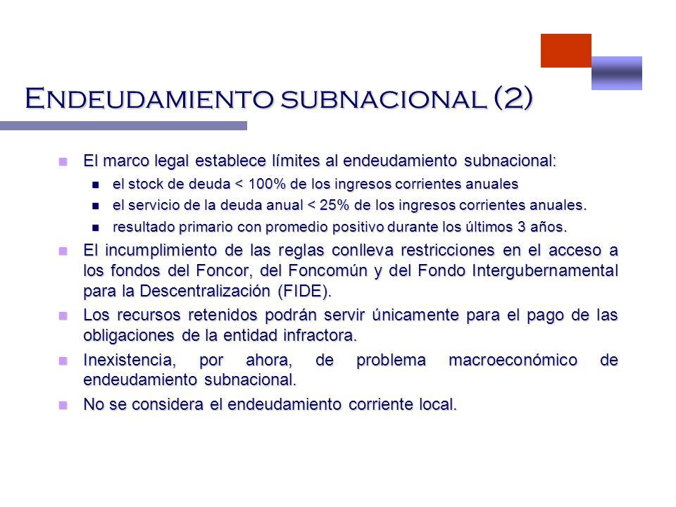 Endeudamiento subnacional (2)