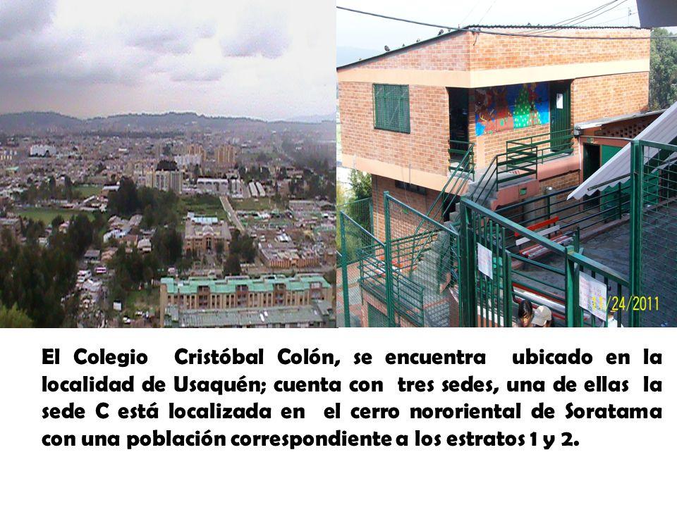 El Colegio Cristóbal Colón, se encuentra ubicado en la localidad de Usaquén; cuenta con tres sedes, una de ellas la sede C está localizada en el cerro nororiental de Soratama con una población correspondiente a los estratos 1 y 2.