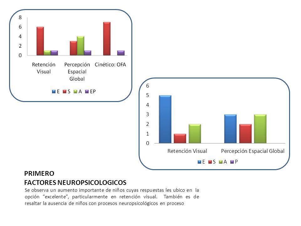 PRIMERO FACTORES NEUROPSICOLOGICOS