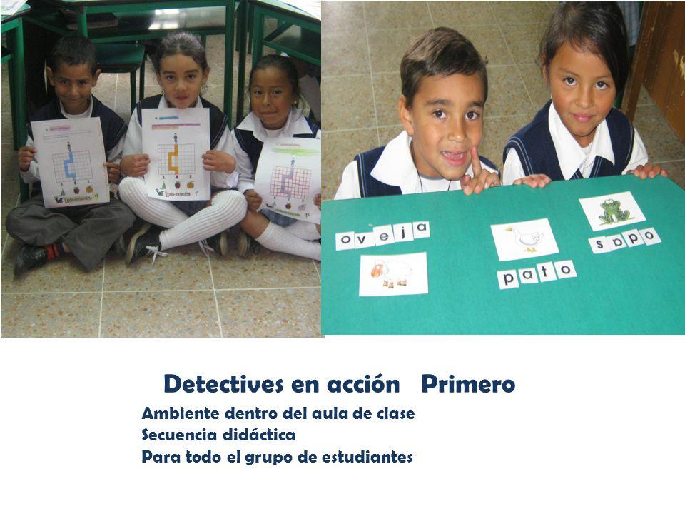 Detectives en acción Primero