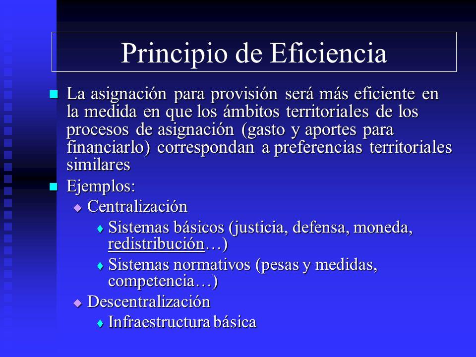 Principio de Eficiencia