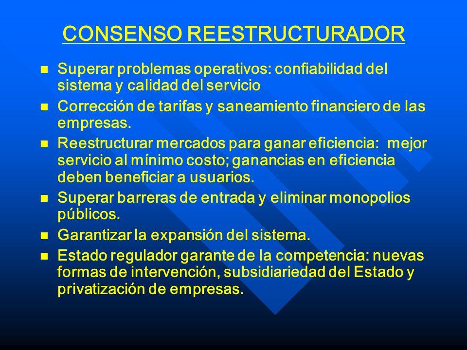CONSENSO REESTRUCTURADOR