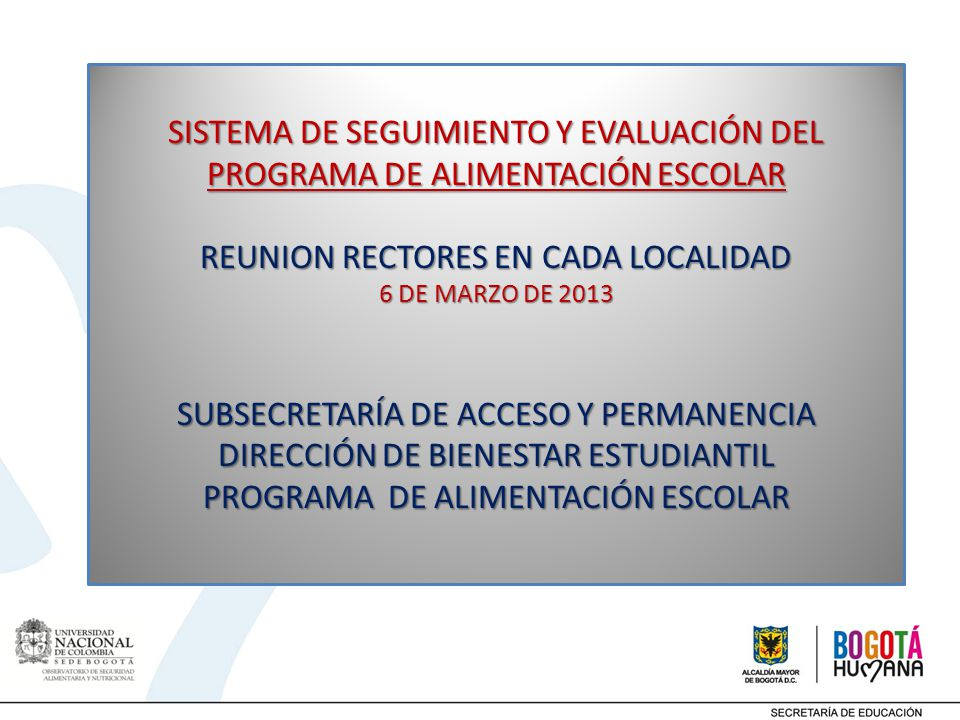 REUNION RECTORES EN CADA LOCALIDAD
