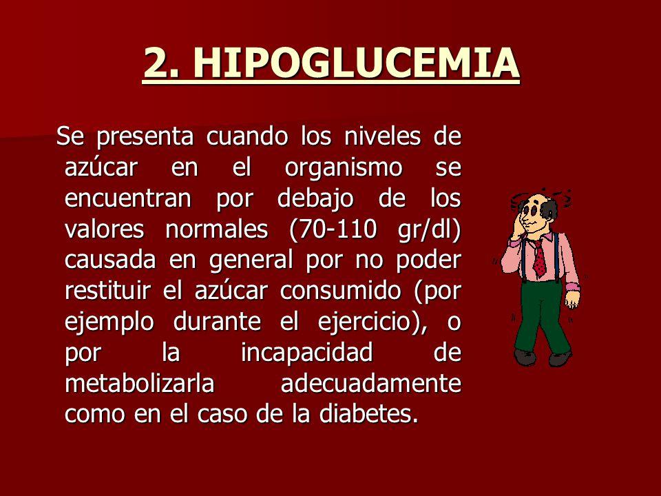 2. HIPOGLUCEMIA
