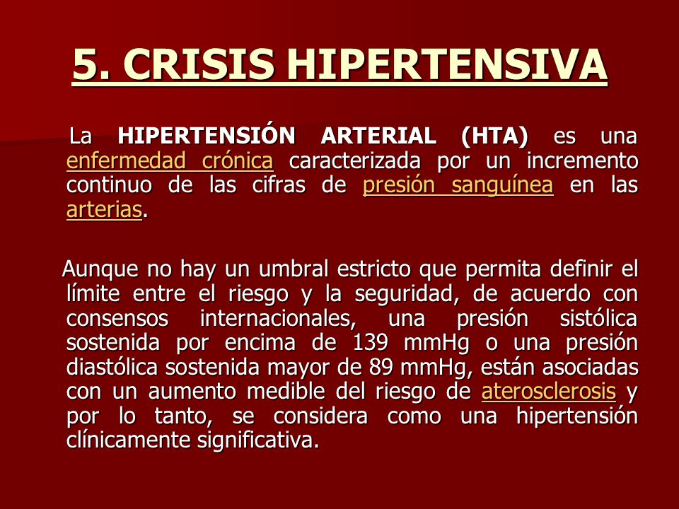 5. CRISIS HIPERTENSIVA