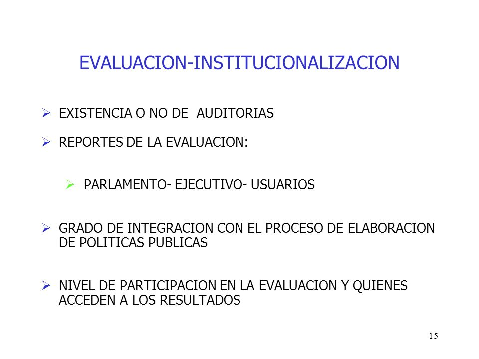 EVALUACION-INSTITUCIONALIZACION