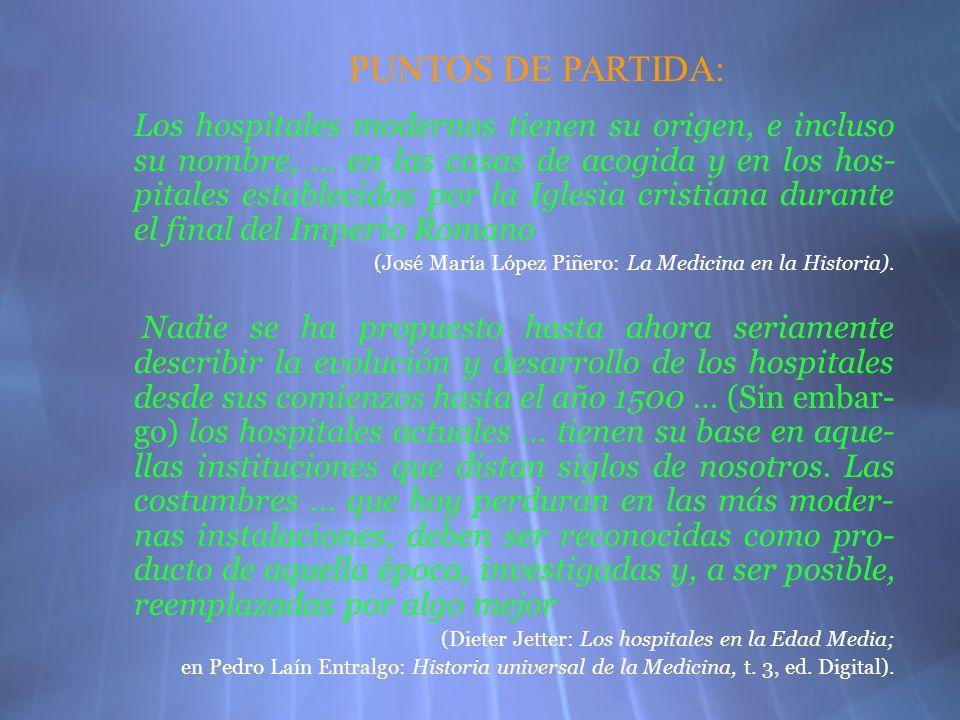 PUNTOS DE PARTIDA: