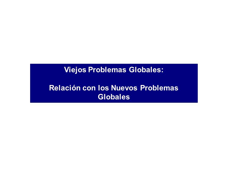 Viejos Problemas Globales: Relación con los Nuevos Problemas Globales