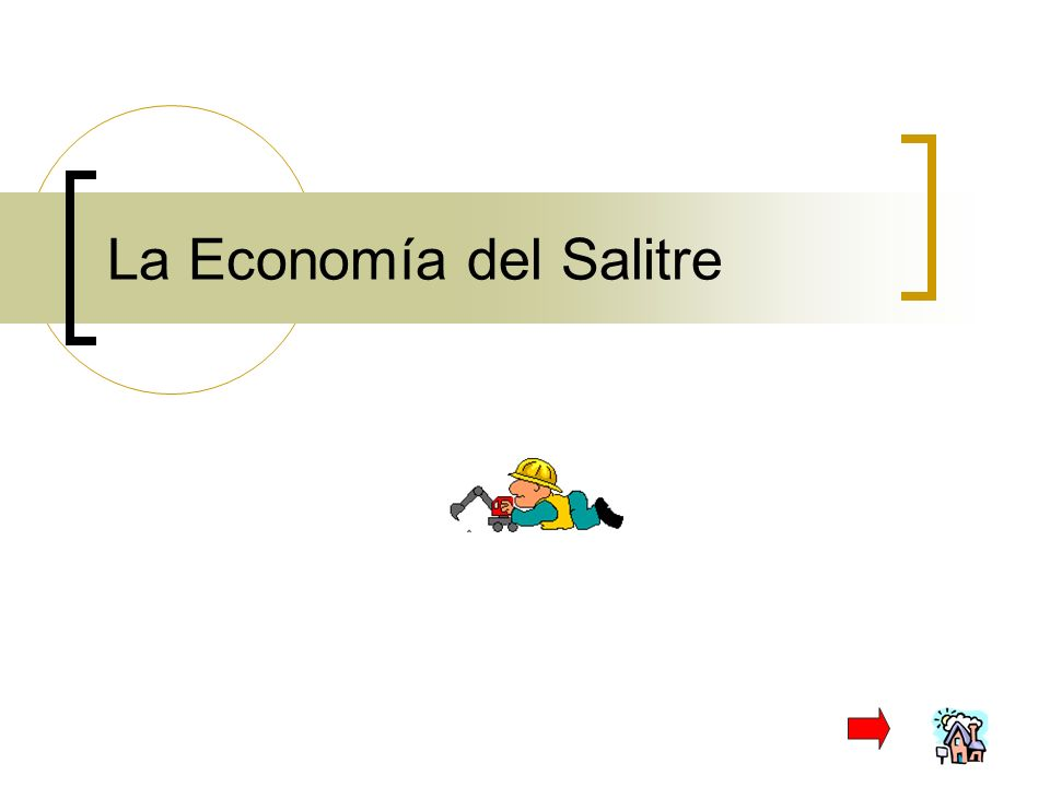La Economía del Salitre
