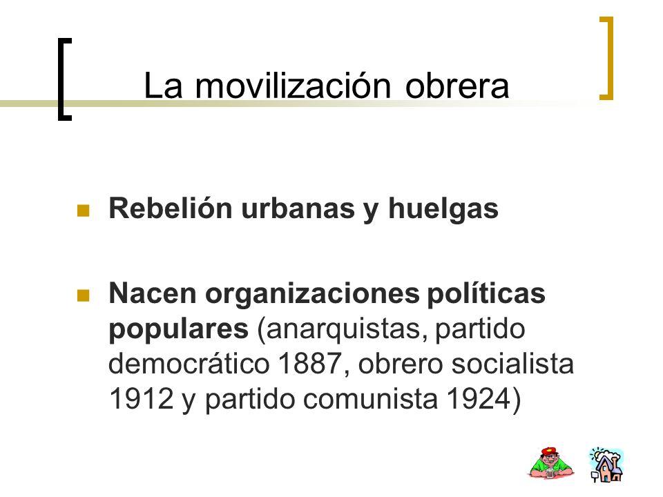La movilización obrera