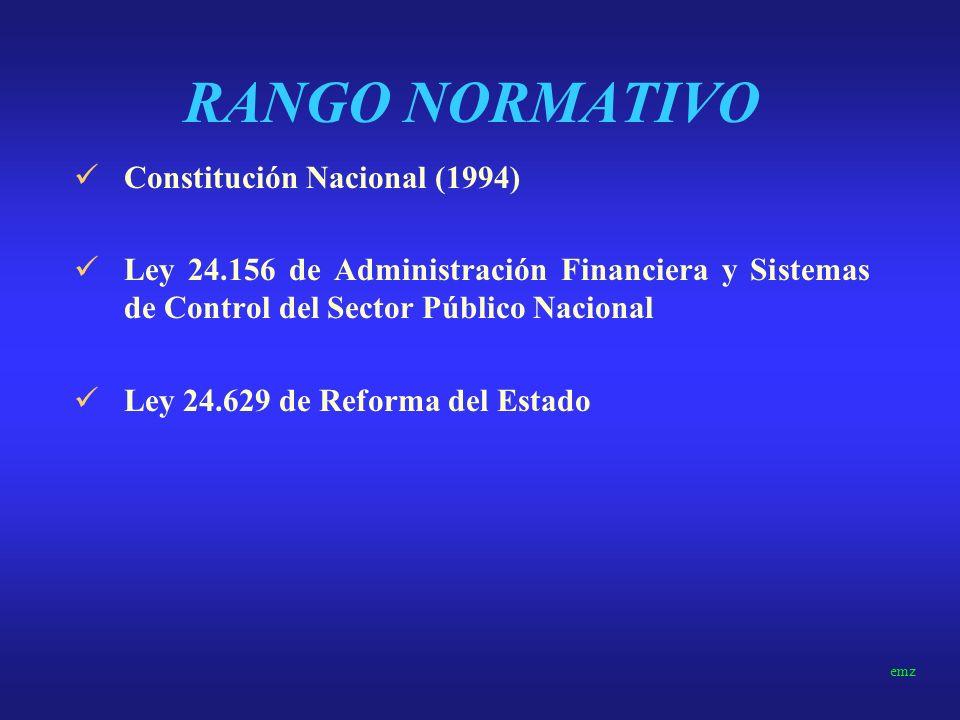 RANGO NORMATIVO Constitución Nacional (1994)