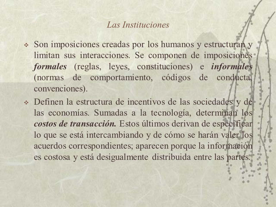 Las Instituciones