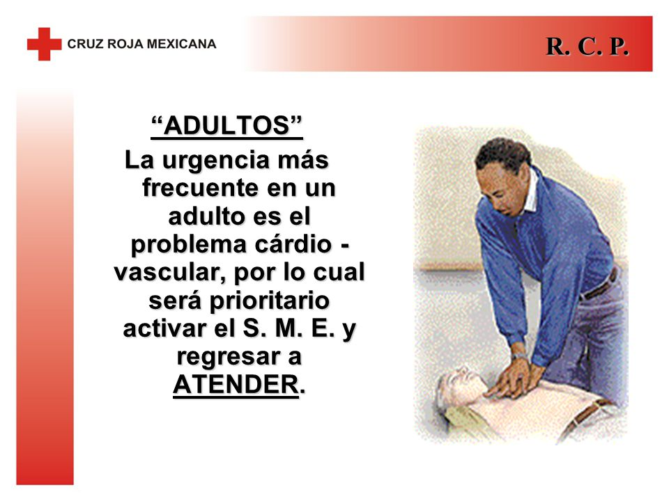 R. C. P. ADULTOS