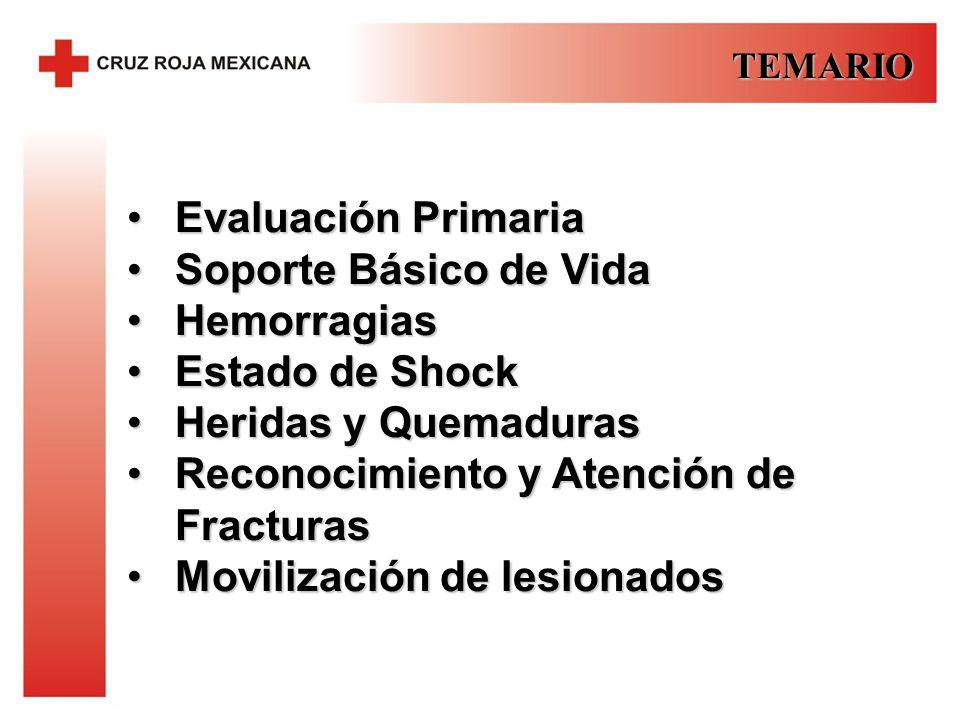 Reconocimiento y Atención de Fracturas Movilización de lesionados