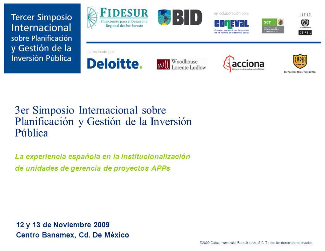 12 y 13 de Noviembre 2009 Centro Banamex, Cd. De México