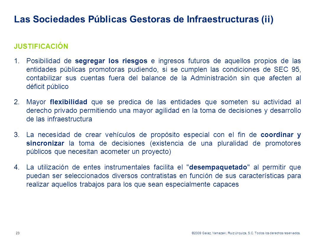 Las Sociedades Públicas Gestoras de Infraestructuras (ii)